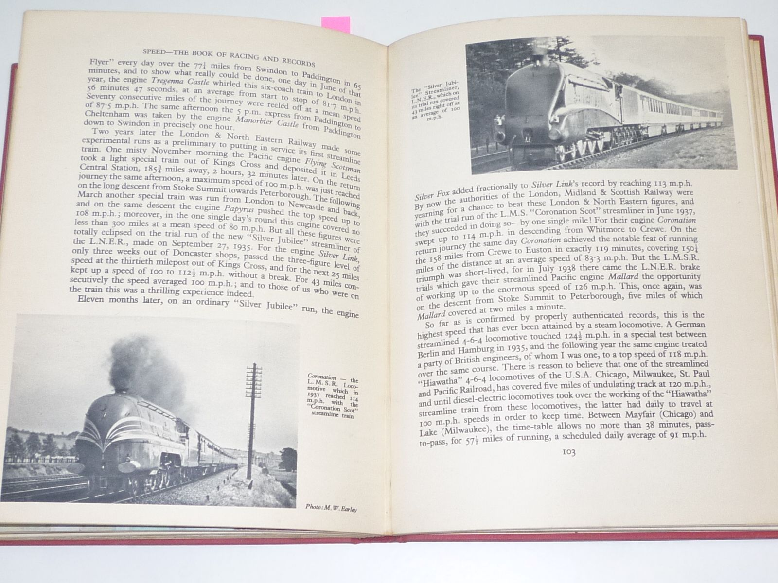 Speed The Book of Racing & Records (Reynolds 1950)